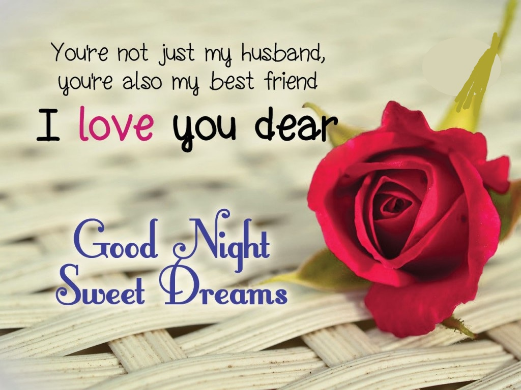 Good Night Love Messages for Husband