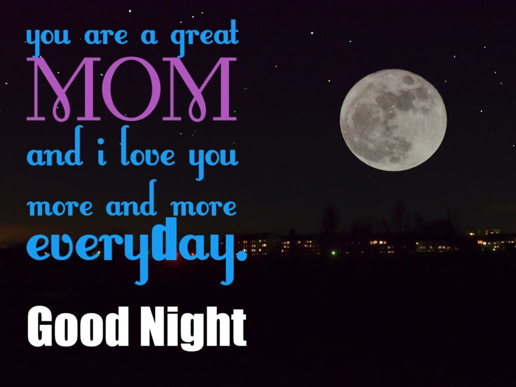 Loving Good Night Messages For Mother