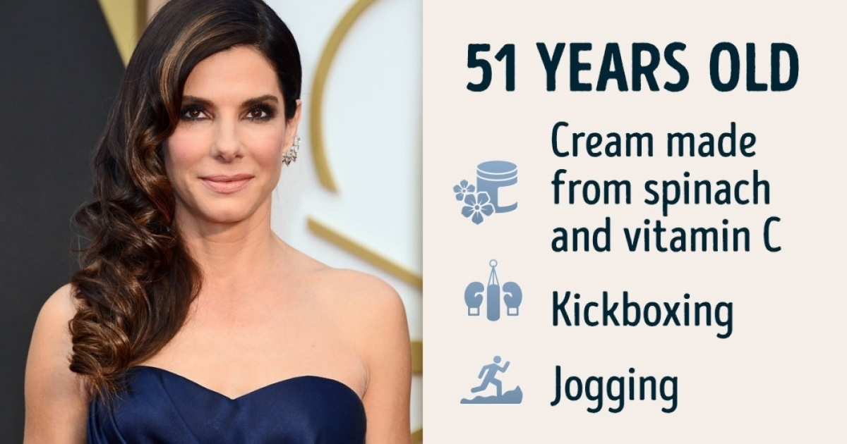 Ten ways to stay young from stars who look just 1 day over 30