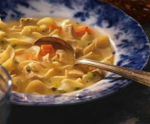 Soup on Sunday: Grilled Chicken Noodle